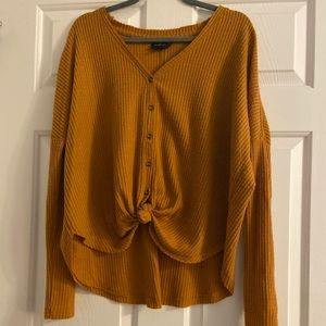 NWT Out From Under long sleeve button up shirt